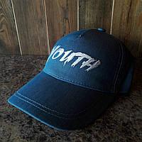 Бейсболка, кепка YOUTH джинс, фото 1