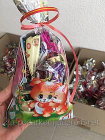 Солодкий подарунок цукерки в пакеті, 350г