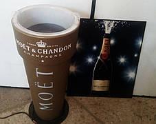 Кулер для охлаждения шампанского Moët & Chandon с подсветкой
