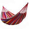 Гамак хлопковый Мексика 200*80 см + веревки для крепления в подарок