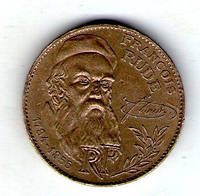 Франция 10 франков 1984 г., '200 лет со дня рождения Франсуа Рюда  №61