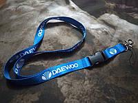 Шнурок на шею для ключей, телефона DAEWOO (ширина -  20мм)