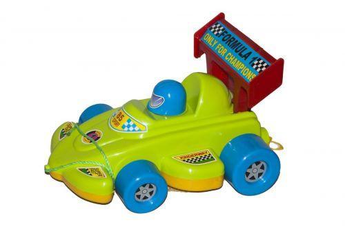 Каталка спортивная машинка зелёная KW-06-604 sco