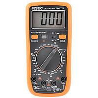 Цифровой Профессиональный мультиметр VC890C тестер вольтметр + термопара, фото 1