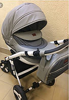 Детская коляска  2 в 1 Люми Viki Saturn эко кожа