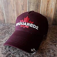 Кепка, бейсболка Dsquared2 красная реплика, фото 1