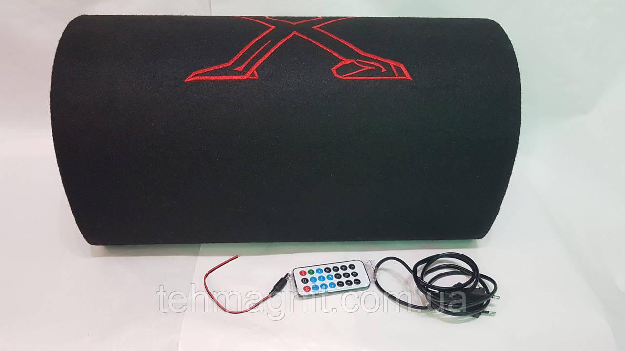 """Сабвуфер активный автомобильный 10"""" 500 ват Bluetooth 12/24/220v XDXQ"""