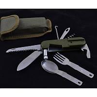 Нож многофункциональный pk061. Мультитул. Нож туристический. Армейский полевой нож.