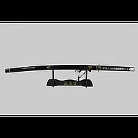 Японский самурайский меч катана со стойкой для меча. Сувенирная сабля. Меч на подставке для коллекции.