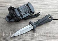 Тактический нож UNITED sub commander. Нож армейский + ножны + цепочка. Нескладной.