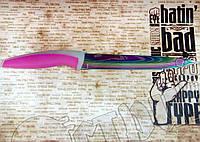 Нож Kitchen fun ( CF ) SС 203 нарезной из нержавейки с керамическим покрытием, фото 1