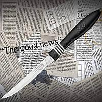 Нож кухонный Tramontina 23450/005 COR&COR для стейка с резиновыми вставками на рукояти. Удобно лежит в руке, фото 1