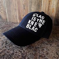 Кепка, бейсболка black is the new black синяя , фото 1