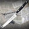 Нож кухонный Tramontina 24005/004 CENTURY для сыра (томатов) с волнистым лезвием