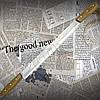 Спутник.Нож для сыра №1, двуручный из высокопрочной стали с удобной рукоятью