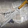 Удобный и практичный нож Спутник №77 разделочный с притыном. Отличное качество