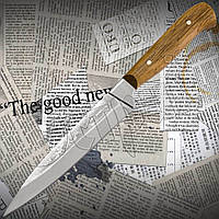 Нож Спутник №79 разделочный с притыном. Удобный и практичный кухонный нож