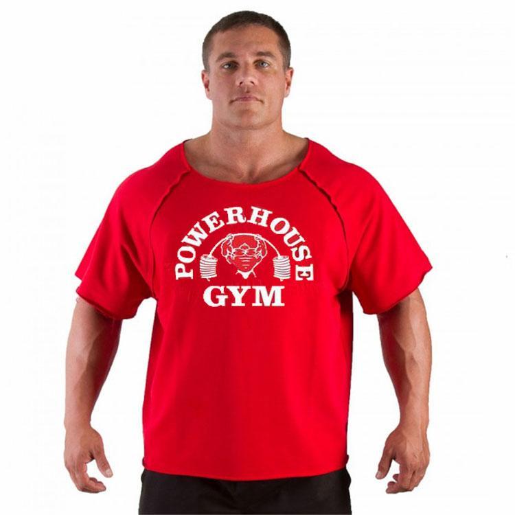 """Мужская футболка Rag top """"POWERHOUSE GYM"""""""