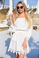 Платье свободного кроя / софт / Украина 19-9287, фото 1