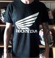Мото Футболка Honda 100% хлопок размер L