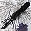 Автоматический выкидной нож Тотем 2009 с фронтальным выбросом клинка для туризма