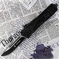 Автоматический выкидной нож Тотем 2009 с фронтальным выбросом клинка для туризма, фото 1