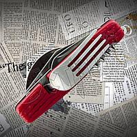 Мульті інструмент похідний № 51: ложка+виделка+ніж+відкривачка+штопор+шило, фото 1
