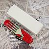 Мультиинструмент походный №002: ложка + вилка + нож + открывалка + штопор + шило. Высокое качество