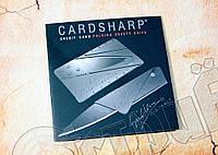 Нож - кредитная карта Card Sharp. Материал - полипропилен, клинок из нержавеющей стали. Отменное качество, фото 1