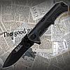 Нож складной Buck BL212 карманный с фиксацией лезвия. Отменный, практичный нож. Незаменим в полевых услових