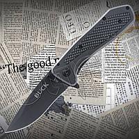 Нож складной Buck X53 карманный. стальной клинок. Универсальный балисонг для использования в походных условиях, фото 1