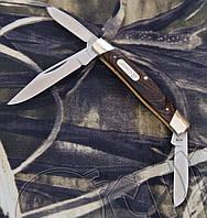 Складной практичный нож Ganzo G725 из медицинской стали. Антикоррозийное покрытие. Деревянная рукоять, фото 1