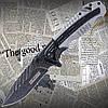 Складной туристический нож Tac-Force №919 Speedster для охоты, рыбалки, туризма. Металлическая рукоять.
