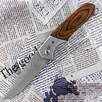Складной компактный нож №333 для рыбалки, туризма, охоты. Остро заточенный клинок. Удобная рукоять, фото 1