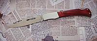Ніж складаний №9013 з тканинним чохлом і отвором в рукояті під темляк. Лезо фіксується, фото 1