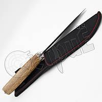 Нож туристический А 47 нескладной с тканевым чехлом для ношения на поясе. Отменное качество, фото 1