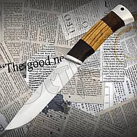 """Нож охотничий Boda FB 66 """"Медведь"""" нескладной с гравировкой. Материал клинка - нержавейка, фото 1"""