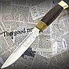 Нож охотничий FB 888 с фиксированным клинком и гравировкой на клинке. Клинок из нержавейки. Отменное качество
