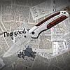 Нож складной Browning DA 43-1 карманный, туристический. Подойдет для кемпинга, охоты, рыбалки