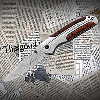 Нож складной Browning DA 43-1 карманный, туристический. Подойдет для кемпинга, охоты, рыбалки, фото 1