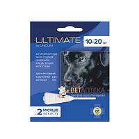 Ультимейт Ultimate капли от блох, клещей, вшей и власоедов для собак 10-20 кг 1,6 мл