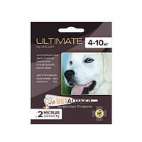 Ультимейт Ultimate капли от блох, клещей, вшей и власоедов для собак 4-10 кг 0,8 мл