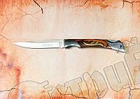 Нож складной Тотем (Totem) 140 А для охоты, рыбалки, туризма. Узкий клинок, эргономичная рукоять, фото 1