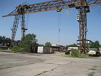 Кран козловой КС 50-42, 1968 г., г/п 50 тонн, в рабочем состоянии