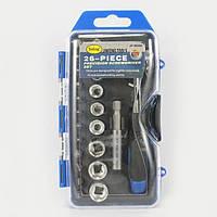 Набор инструментов Jinfeng JF-90262 ключи торцевые головки и биты Ключ-трещетка