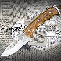 Туристический нож Спутник Модель 16, остро заточенное лезвие, гравировка, фото 1