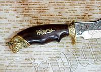 """Нож туристический эксклюзивный Спутник """"Рысь"""". Клинок остро заточен. Не Х.О."""
