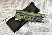 Складной нож - балисонг Тотем (Totem) 503 с камуфляжной расцветкой. Отменное качество, фото 1
