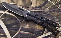 Нож- балисонг Тотем (Totem) КА500 складной для флиппинга, туризма.Тканевый чехол в комплекте, фото 1