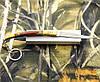 Складной нож-брелок № 516 в оригинальном дизайне. Удобный, прочный, компактный балисонг